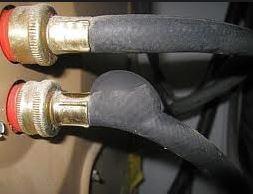 Washing machines hoses burst