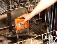 eliminate odors with baking soda