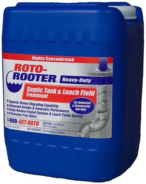 Roto-Rooter® Heavy-Duty Septic Tank and Leach Field Treatment