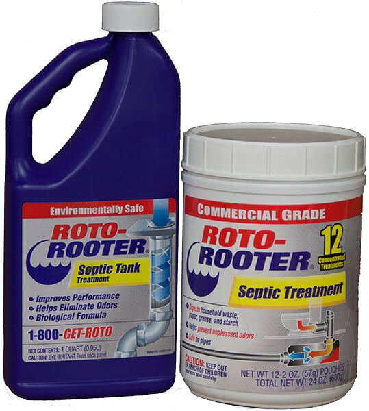 Roto-Rooter® Septic Tank & Cesspool Treatment